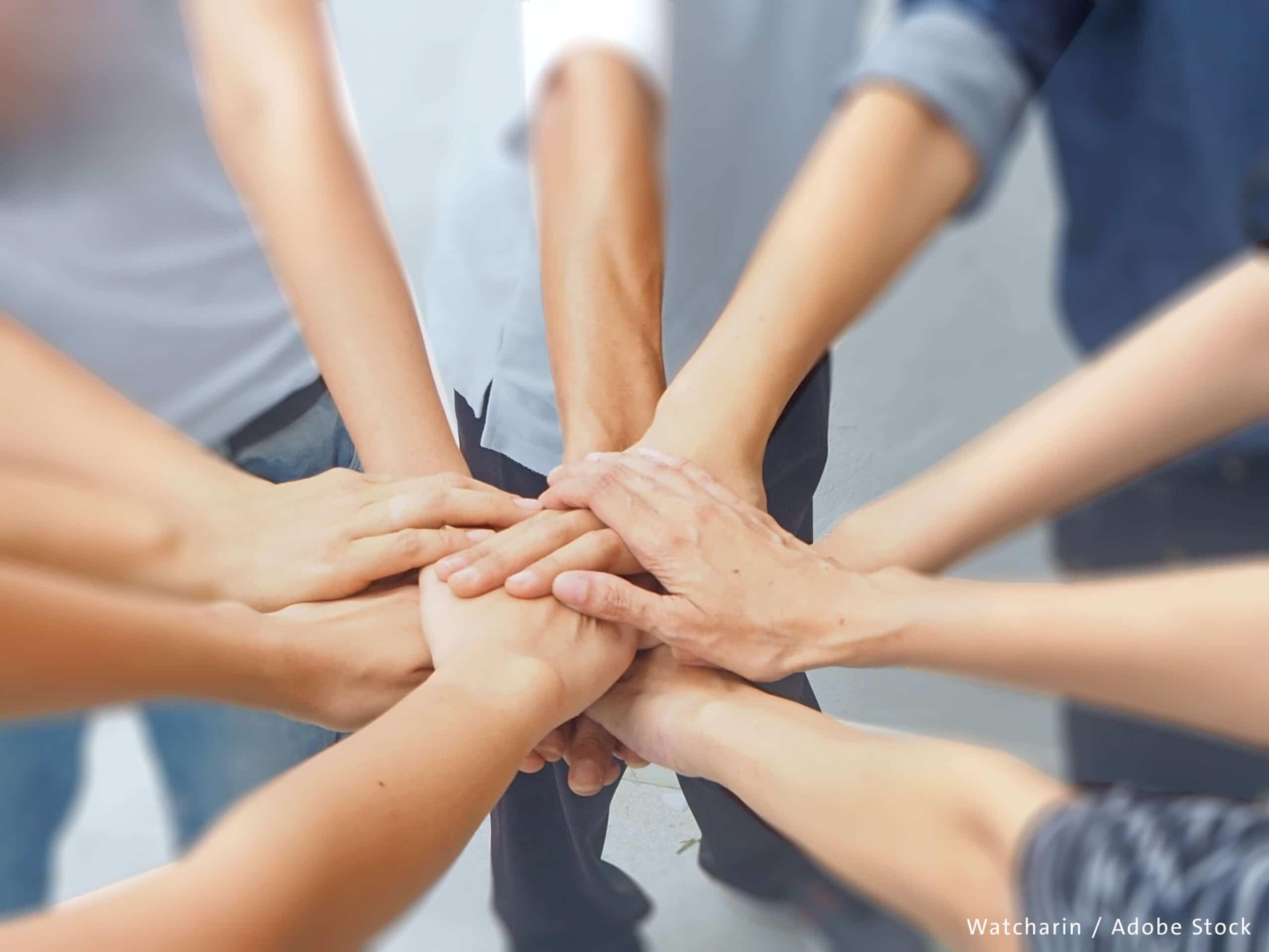 Zusammenarbeit Symbolbild